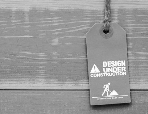 Baustellenschild, corporate design