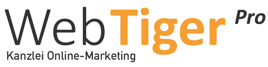 Logo WebTiger Pro Kanzlei-Online-Marketing