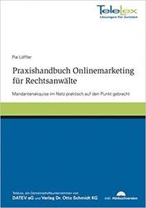 Buchcover Praxishandbuch Onlinemarketing für Rechtsanwälte