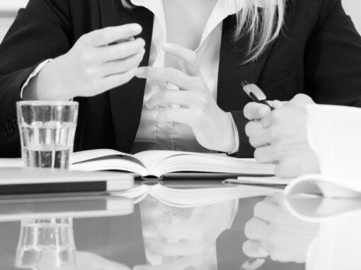 Gesprächsfürhung und Mandantenbindung