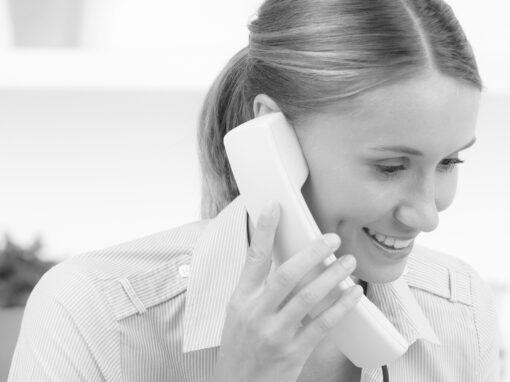 Mandantenbindung durch guten Telefonservice