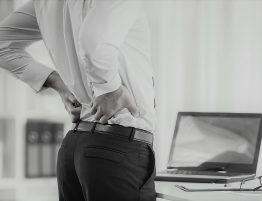 Rückenschmerzen, Arbeitsplatz