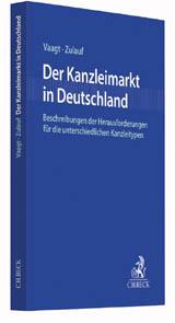 Buchcover Der Kanzleimarkt in Deutschland