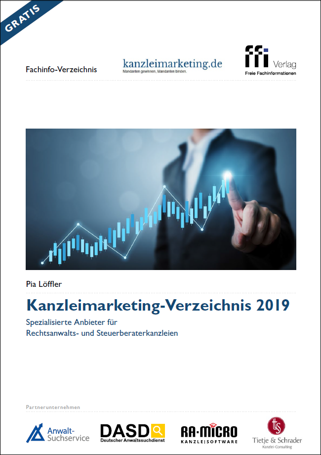 Cover Kanzleimarketing-Verzeichnis 2019