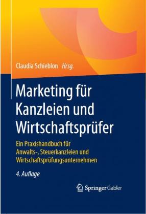 Buchcover Marketing für Kanzleien und Wirtschaftsprüfer