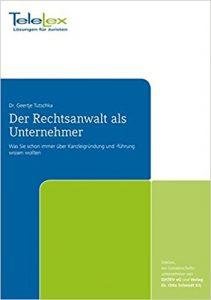 Buchcover Der Rechtsanwlat als Unternehmer