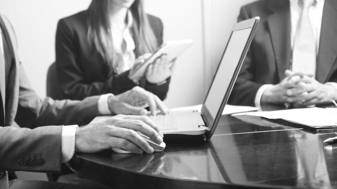 Software, Büroarbeit, Vertrag