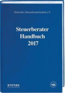 Buchcover Steuerberater Handbuch 2017