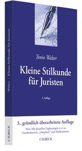 Buchcover Kleine Stilkunde für Juristen