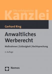 Buchcover Anwaltliches Werberecht