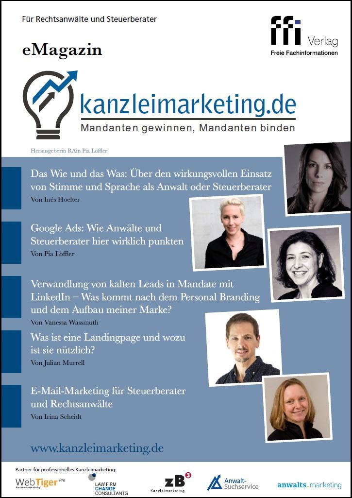 Cover eMagazin Kanzleimarketing 2/2019
