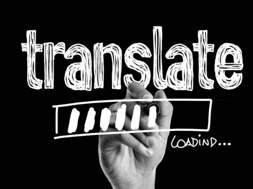 Übersetzen mit Ladebalken