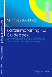 Buchcover Kanzleimarketing 4.0 Guidebook